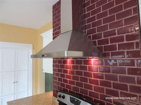 red tile backsplash kitchen red subway tile backsplash kitchen to decorate hallway