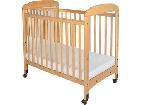 daycare baby cribs serenity fixed sides crib mirror w mattress fnd 300m
