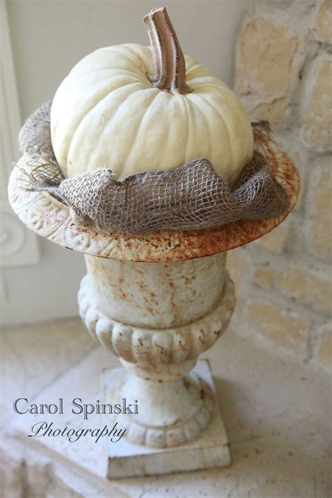 Decorated Cooking Urn by Faith Home Love Waiting For Autumn