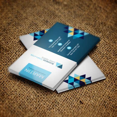 blue business card template psd blue business card psd template template for free