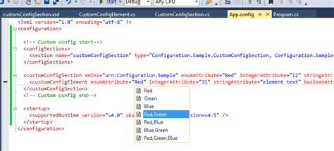 custom configuration section webapi json attribute phpsourcecode net