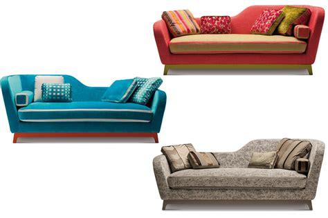 divano letto di design divano letto design in tessuto e velluto jeremie