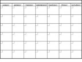 4 wk blank calendar 2017 calendar printable
