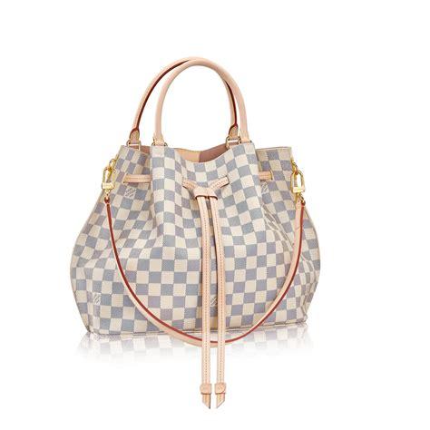 Louis Vuitton New Louis Vuitton Damier Azur Collection by Girolata Damier Azur Canvas Handbags Louis Vuitton