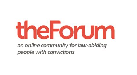 Stigma Of Criminal Record Official Launch Of Updated Forum To Support With Convictions