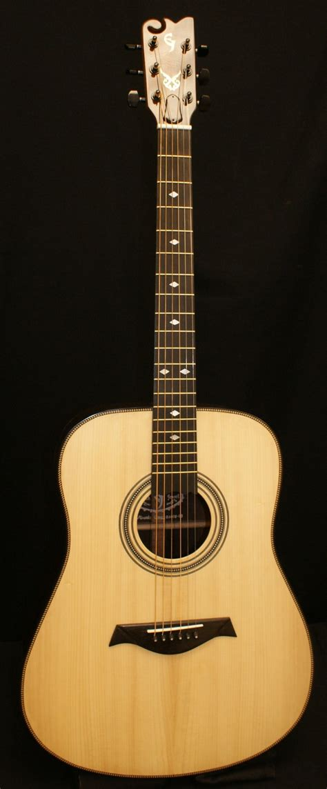 Custom Handmade Acoustic Guitars - dreadnought guitars custom handmade elijah guitars