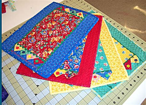 Quilting Placemats by Memories Through Quilting Placemats