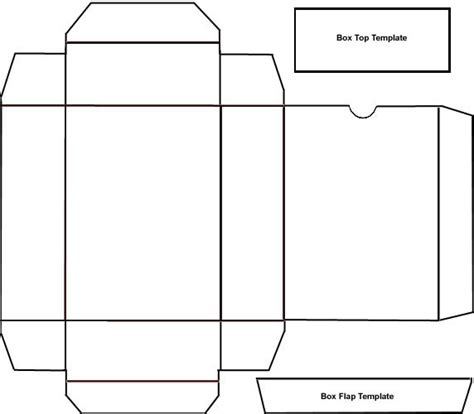 printable box template 7 best images of free printable box patterns printable