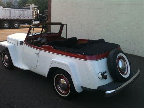 willys jeepster for sale 1948 jeep willys jeepster for sale