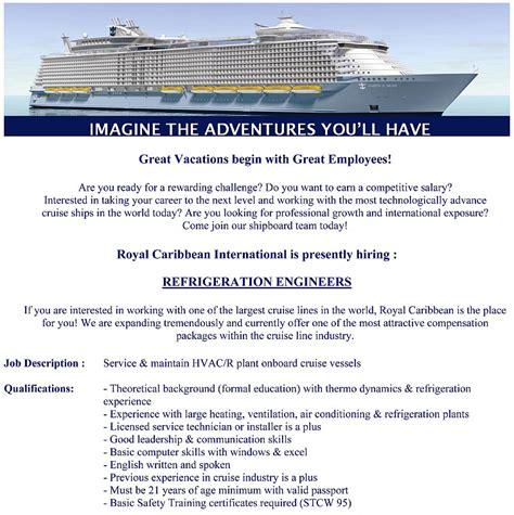 Cruise Ship Objective Resume