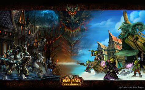 theme windows 10 world of warcraft world of warcraft game wallpaper windows 10 wallpapers
