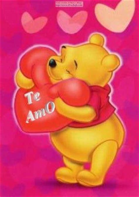 imagenes de winnie pooh con un corazon hay mi amor no te imaginas lo mucho que te amo c y a
