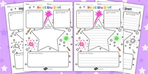 new year writing ks2 121 best ks2 resources images on