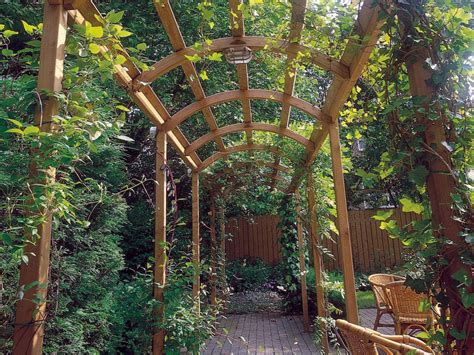 build an arbor trellis frame your walkway build a pergola landscaping ideas