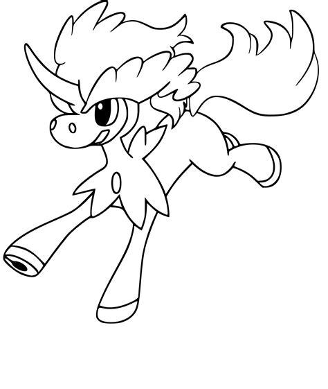 Coloriage Keldeo Pokemon 224 Imprimer