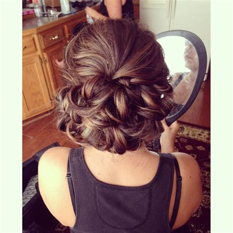 Wedding Hair And Makeup Utica Ny by Bridal Style Curled Bun Wedding Hair Utica Ny