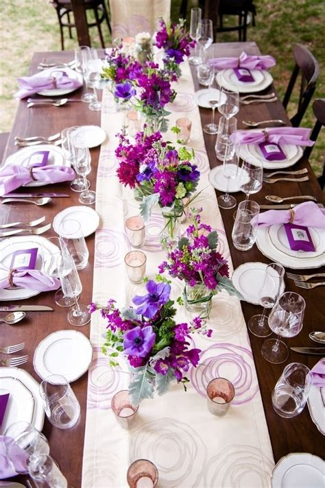 stunning lilac table decorations wedding tables 56 for
