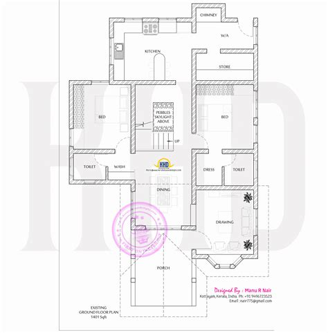 house renovation plan kerala home design and style