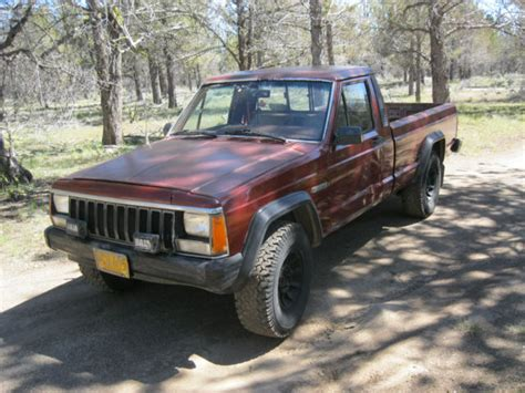1986 jeep comanche 4x4 1986 jeep comanche mj 4x4 5spd v6 2 8 bed no rust
