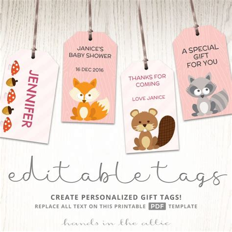 Printable Baby Shower Gift Tags by Printable Gift Tags Archives Printable Stationery