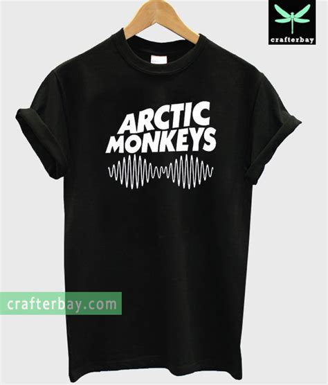 T Shirt Artic Monkey 5 Colors arctic monkeys logo t shirt