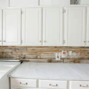 Wood Plank Backsplash - wood plank backsplash design decor photos pictures ideas inspiration paint colors and