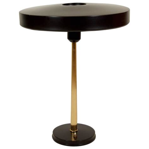 black and brass desk l black and brass philip kalff desk l at 1stdibs