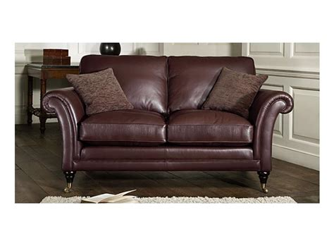 Parker Knoll Armchairs Parker Knoll Burghley 2 Seater Leather Sofa From