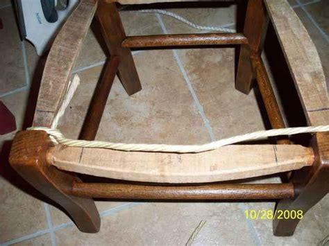 Comment Rempailler Une Chaise by Explications Rempaillage Atelier D Isa