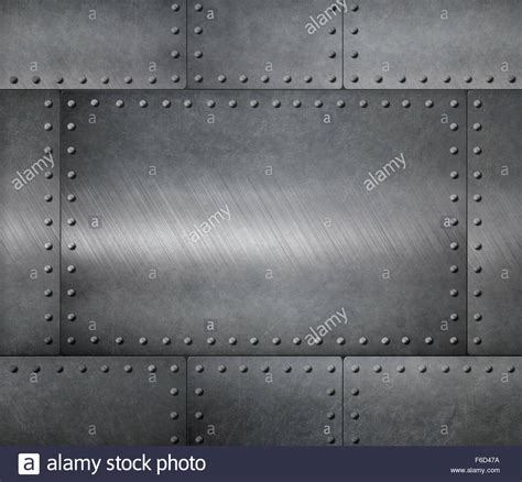 metal steel plates armour background stock photo  alamy