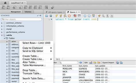 alter date format mysql how to view table data in the newest 6 0 mysql workbench