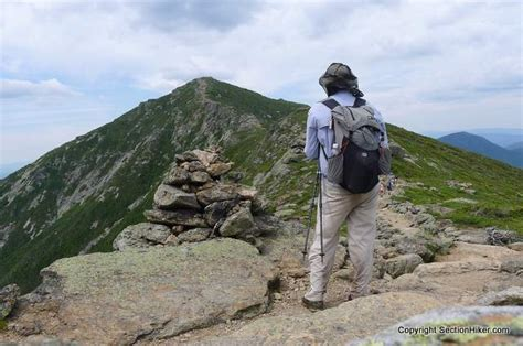 section hiking great hikes franconia ridge traverse section hikers