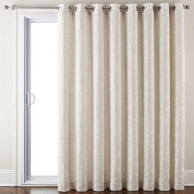 jcpenney home store curtains jcpenney home quinn leaf grommet top curtain panel jcpenney