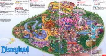 disneyland park california map theme park brochures disneyland theme park brochures