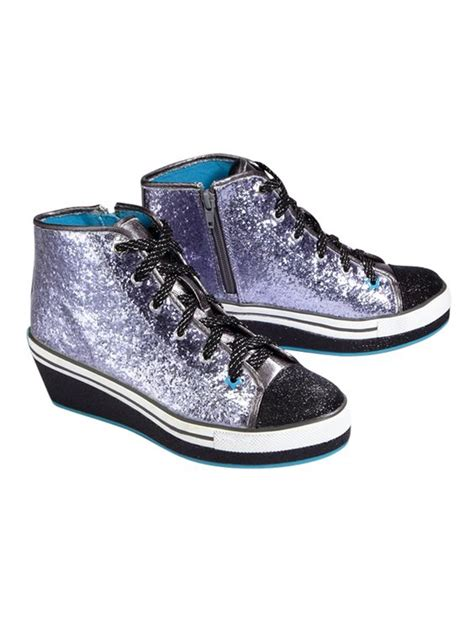 justice shoes glitter high top wedge sneakers sneakers shoes shop