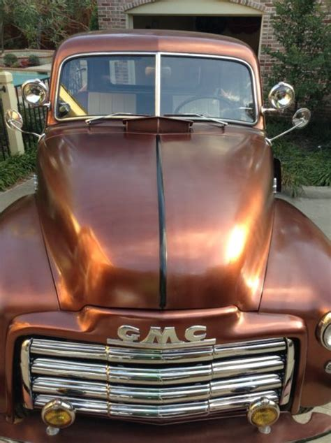 seller  classic cars  gmc  saddle brown bronze