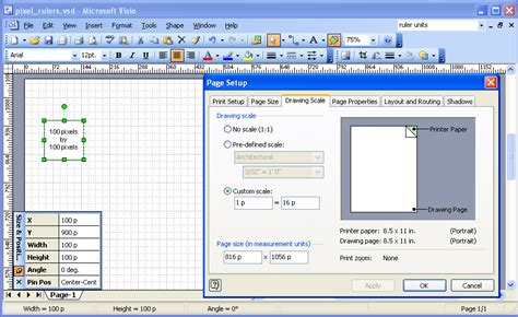 visio fit to drawing visio interface diagram visio free engine image for user