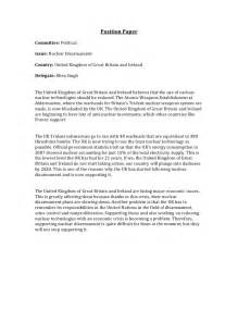Position Essay Exles by Position Paper