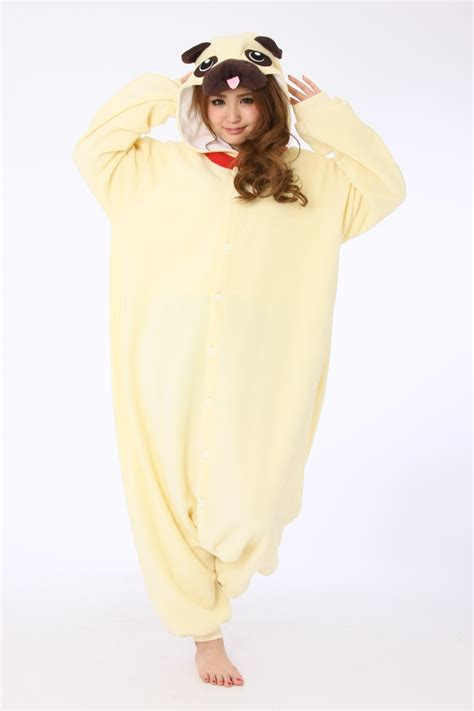 pug onesie pug animal onesie kigurumi costume for