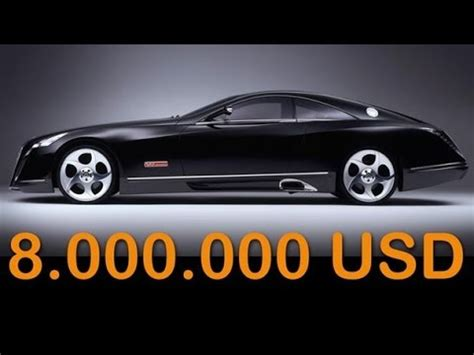 maybach exelero price maybach exelero price 8 000 000 the most expensive car