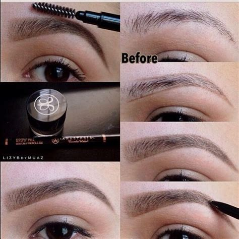how to soften hair on eyebrows and get them to lay down sparse eyebrows brows and eyebrows on pinterest