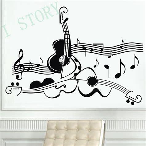 Musical Wall Stickers achetez en gros instrument de musique autocollants en