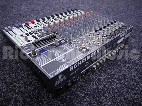 Mixer Behringer Second behringer xenyx 1832fx 2nd rich tone
