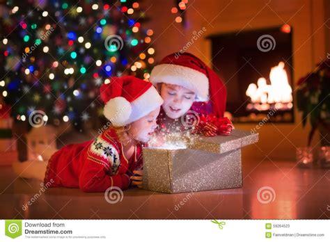 kids opening christmas presents www pixshark com