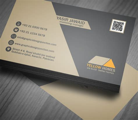 design kartu nama format psd modelos de tarjetas de presentaci 243 n para agentes inmobiliarios