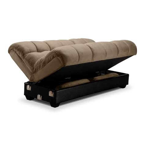 Sleeper Futon Sofa by Ara Futon Sofa Bed With Storage Value City Furniture