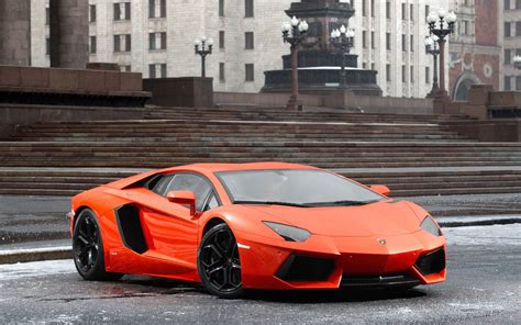 Lamborghini Aventador In Orange Lamborghini Aventador Orange Wallpaper Johnywheels