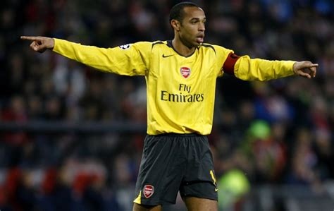 arsenal legend thierry henry s emotional statue unveiling