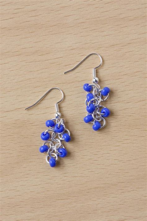 easy seed bead earrings 183 how to make a pair of beaded