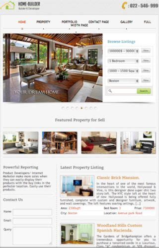 Create A Real Estate Website With Wordpress Home Builder Property Management Website Templates